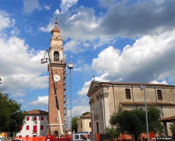 chiesa e campanile di cassola