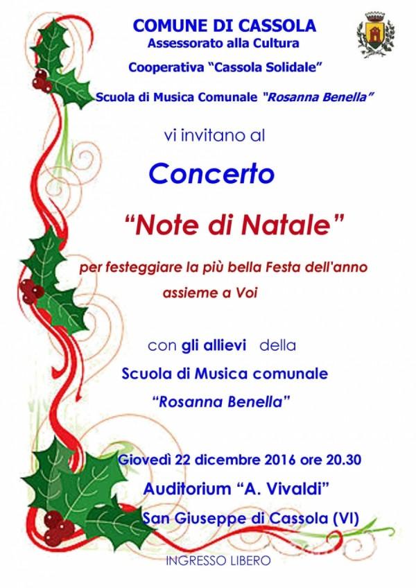 Concerto Note di Natale