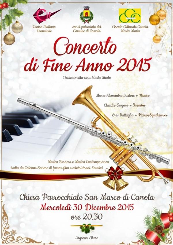 Concerto di Fine Anno 2015