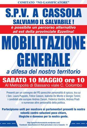 SPV mobilitazione generale