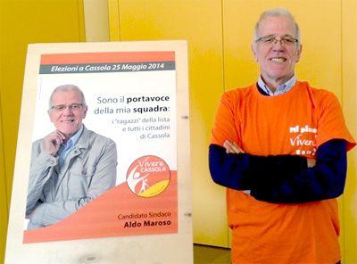Aldo Maroso candidato sindaco a Cassola
